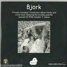 BJORK - 9 TRACK THE TIMES PROMO CD (FREE UK POST)