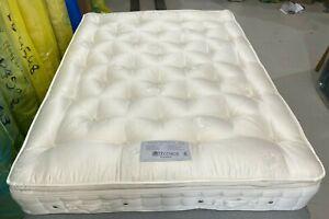 Hypnos PILLOWTOP AURORA MEDIUM/FIRM mattress 150X200 KING SIZE 5FT RRP£1530