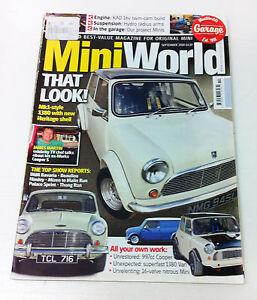 Mini World Magazine September 2010 - Mini Minor Cooper Rover Rally