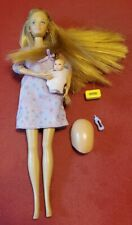 Pregnant Midge Barbie Doll Happy Family Baby Bump & baby as shown lot x136