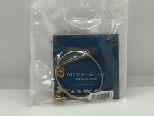 """Alex and Ani Harry Potter """"The Sorting Hat"""" gold tone bangle, NWOT"""