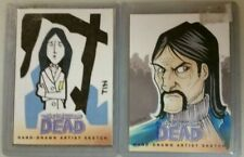 The Walking Dead Set 2 Hand Drawn Artist Sketch Card Governor