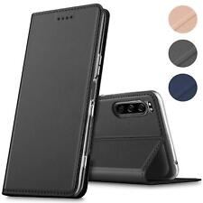 Sony Xperia 10 II 2 Handy Schutz Hülle Tasche Flip Case Klapphülle Slim Etui