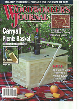 WOOD WORKER'S JOURNAL TABLETOP WORKBENCH:PORTABLE FOR USE INSIDE OR OUT.