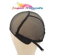 UK!Full Wig Cap.Adjustable Strap. Stretchy Cap. Durable Weaving Cap. No Part Net