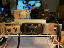 Lot Of 5 Old Cameras For Parts Olympus/Minolta/Polaroid/Bell Howell/Vivitar