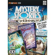 Mystery Stories Trilogy PC Games Windows 10 8 7 XP Computer Games hidden object