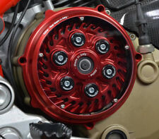 "Ducati embrayage couvercle embrayage couvercle ""Pollux"" Rouge NOUVEAU-Clutch Cover New"