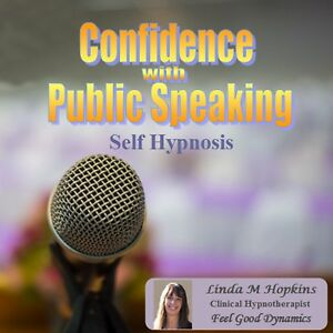 Confidence CD for Public Speaking  CD Self Hypnosis Guided Meditation Relax CD