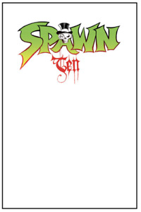 Spawn 10 remastered CEREBUS blank cover variant Todd McFarlane Dave Sim