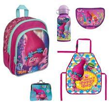 Trolls Rucksack Set 5tlg. mit Brotdose u. Trinkflasche z.B. für den Kindergarten