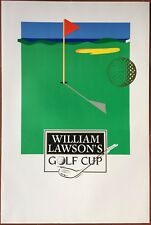Poster William LAWSON'S Golf Cup 15 11/16x23 5/8in