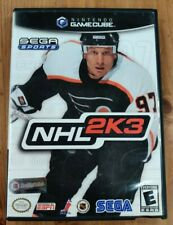 NHL 2K3 (Nintendo GameCube, 2002) Complete Tested and Working Rare