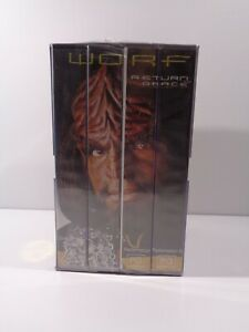 Star Trek The Next Generation Worf Return To Grace Collection VHS Brand New