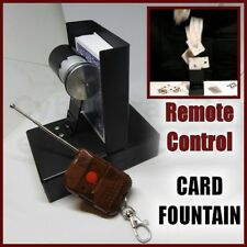 REMOTE CONTROL PLAYING CARD FOUNTAIN ELECTRIC FLYING SWORD STAB ETC MAGIC TRICK