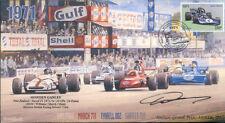1971 brm P160 mars tyrrell 002 & surtees monza F1 couverture signé howden Ganley