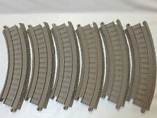 THOMAS TANK ENGINE TRACKMASTER 6 Curve Track pieces Like NEW