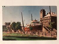 The Soo Locks, Sault Ste. Marie, Michigan MI Postcard - September 21, 1972