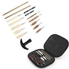 16pcs Pistol Gun Cleaning Kit Universal for .22 38 40 44 45 357 cal 9mm Hand Gun