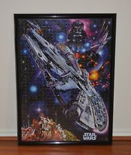 Buffalo Disney Star Wars Jigsaw Puzzle 1,000 Pieces Assembled With Frame New
