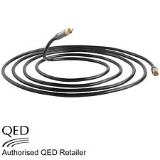 QED Performance SUBWOOFER Phono RCA to RCA CUSTOM Cable 1.5m