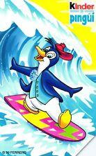 G 1010 C&C 3091 SCHEDA TELEFONICA USATA KINDER PINGUI' SURF