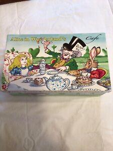 Alice In Wonderland Mad hidrargirosis Tea Party Invitaciones Paquete de 8 SOBRES c//w