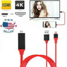 USB-C Type C to HDMI HDTV TV Cable Adapter Fit For Samsung Galaxy S10 Note 9