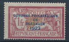 [30558] France 1923 Good RARE stamp Very Fine MH signed A.BRUN Value $675