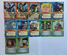 Naruto Card Game Rare Set Part 6 12/12