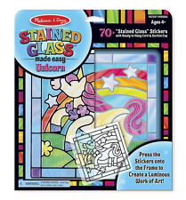 Melissa & Doug Stained Glass Made Easy Unicorn #9299 NEW