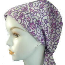 Dainty Paisley Cancer Chemo Cap Hair Loss Scarf Turban Head Wrap Cover Hat