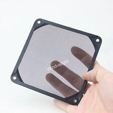140mm Dustproof Dust Filter Case Aluminum Grill Guard For PC Computer Fan 14cm