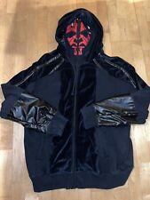 Marc Ecko Disney Star Wars Darth Maul Costume Full Face Hoodie XXL Cut And Sew