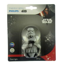 Philips Star Wars Tropas Asalto Infantil Led Bolsillo Linterna Antorcha Nuevo