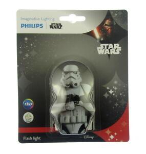 Philips Star Wars Stormtrooper Childs LED Pocket FlashLight Torch NEW