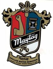 Maytag Crest Model 98 82 72 Gas Engine Motor Washing Machine Hit Miss Decal Med