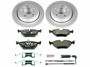 For 2001-2005 BMW 325xi Brake Pad and Rotor Kit Rear Power Stop 62234WQ 2002
