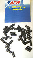 AFW BLACK LEADER SLEEVES  FOR RIGGING STEEL LEADER- PICK YOUR SIZE - SMALL PACKS