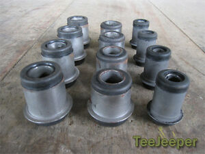 new Front and Rear Bushing Complete Set Jeep M151 A1 A2