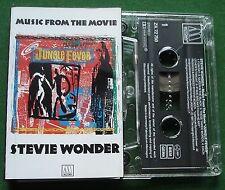 Jungle Fever Stevie Wonder Music From the Film Cassette Tape - TESTED