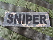 SNAKE PATCH ..:: SNIPER ::.. US ACU DIGITAL pour tenue US ARMY ou FOLIAGE