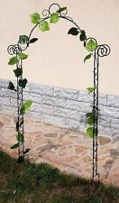 treillis Arc rose 80008 Support pour Plantes Grimpantes h-160 cm treillage
