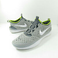 Nike Solar Soft Costa Low Mens Size 11 Gray White Yellow Running Shoes 631389