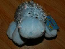 GANZ Webkinz HM009 HIPPO Plush New with Sealed Code