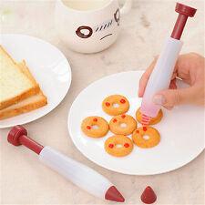 Pro Silicone Fondant Cake Pen Pastry Icing Writing Syringe Sugarcraft Tool Decor