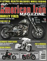 American Iron Motorcycle Magazine Harley Fixes Cam Bolt In Sturgis Tour Guide