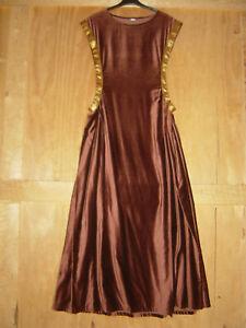Mittelalter Gewand Kleid Überkleid Surcotte Höllenfenster Gewandung Damen LARP 3