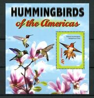 Grenada 2011 MNH Hummingbirds of Americas 1v S/S Rufous Hummingbird Birds Stamps