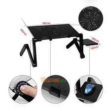 Portable Foldable Adjustable Laptop Desk Computer Table Stand Tray For Sofa Bed